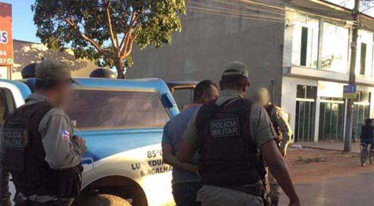 Wislley foi detido após acidente no oeste da Bahia - Foto: Reprodução | Blog Braga
