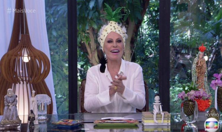 Apresentadora falou sobre a tendência da fruta no mundo da moda - Foto: Reprodução | TV Globo