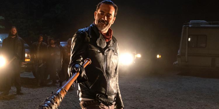 O ator Jeffrey Dean Morgan é o vilão Negan, no seriado norte-americano The Walking Dead - Foto: Divulgação