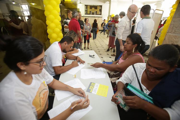 RDE Mutirão de exames foi realizado no Hupes nesta sexta-feira, 28 - Foto: Joá Souza l Ag. A TARDE