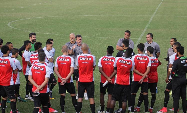 Mancini blindou atletas das turbulências da diretoria - Foto: Maurícia da Matta l EC Vitória