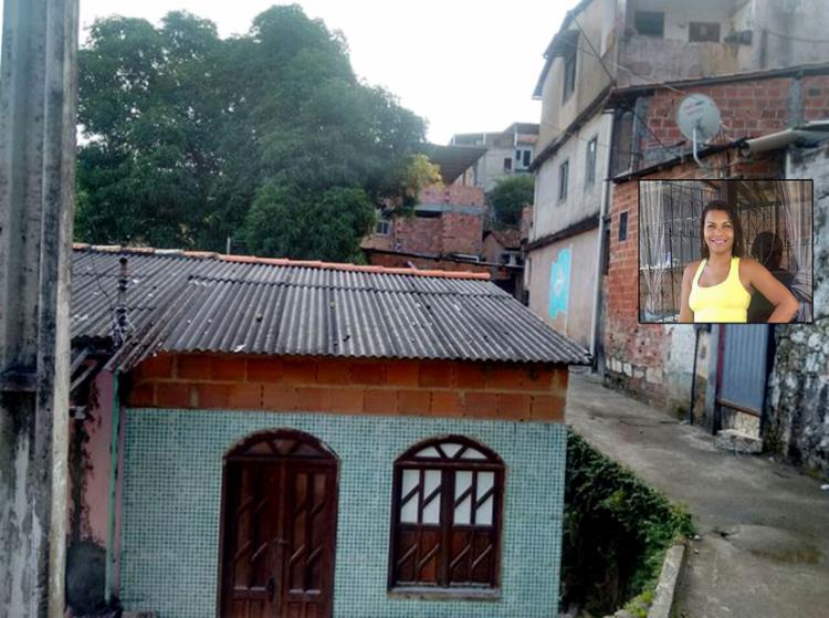 Vítima morava na Rua da Liberdade; Irla foi assassinada diante da filha, que ficou traumatizada - Foto: Alexandre Santos l Ag. A TARDE e Arquivo pessoal