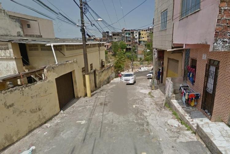 Crime aconteceu na rua Capitão Abelardo Andréa, próximo a ladeira do Tamarineiro - Foto: Reprodução