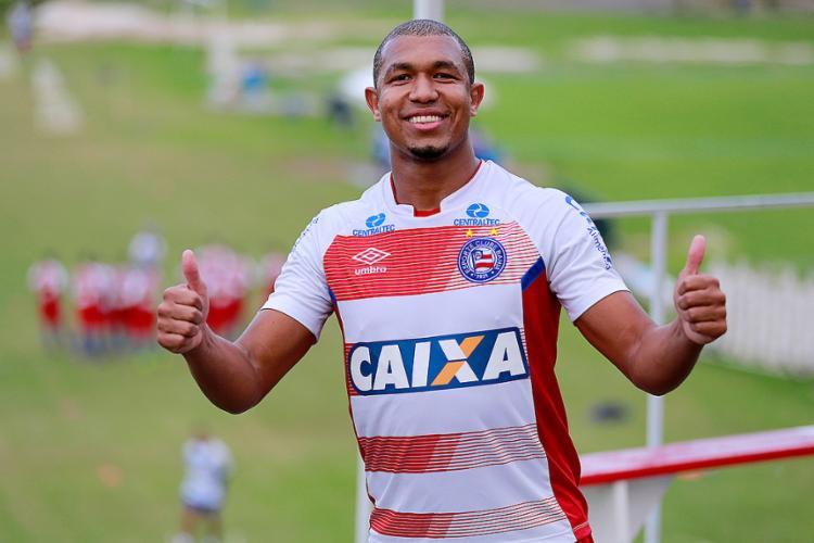 Após três partidas ausente, Rodrigão volta - Foto: Felipe Oliveira l EC Bahia