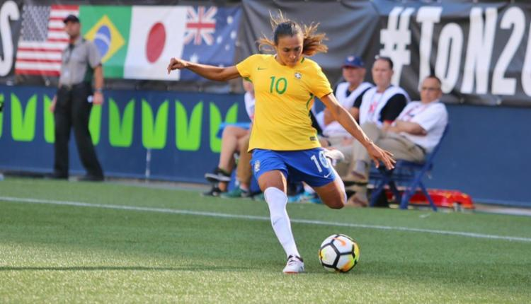 Brasil perdeu por 4 a 3 para os Estados Unidos - Foto: Divulgação   CBN