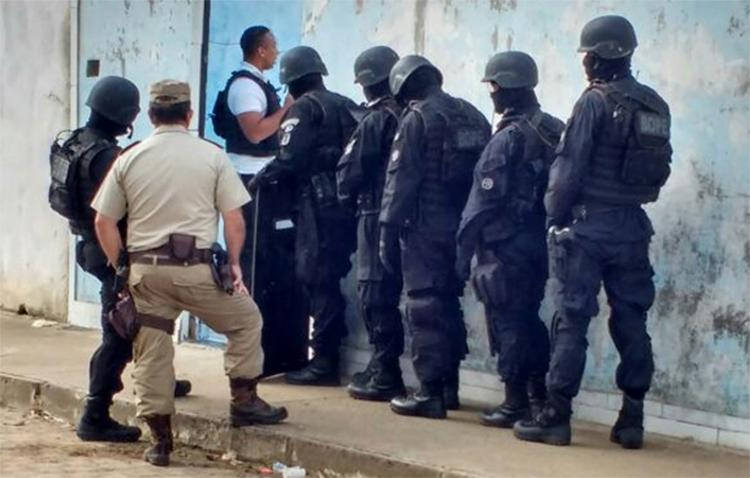 Policiais do Bope negociaram rendição do padrasto para libertar os meninos - Foto: Divulgação | SSP-BA