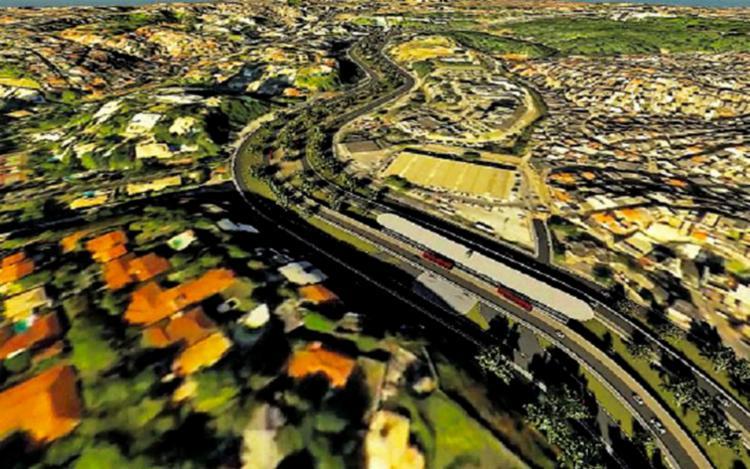 Trecho de 5,5 quilômetros ligará a Lapa ao Parque da Cidade e terá investimento de R$ 412 milhões - Foto: Divulgação