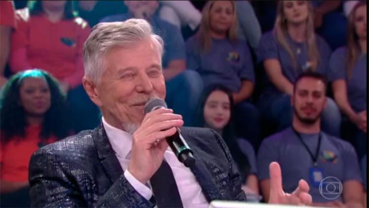 O ator teve a confirmação durante o Show dos Famosos, no Faustão - Foto: Reprodução | Vídeo | Gshow