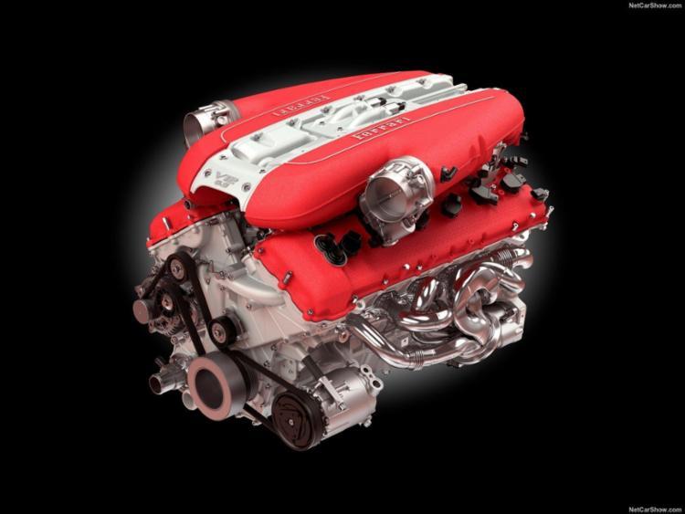 Legado dos motores V12 é mantido atualmente com a 812 Superfast e seus 800 cv - Foto: Netcarshow