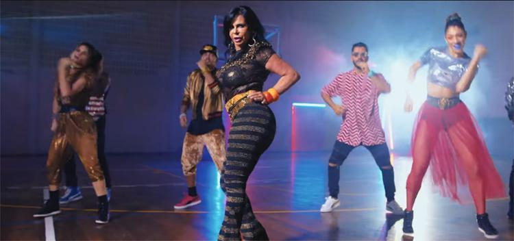 'Rainha do rebolado' é a estrela do novo clipe da cantora norte-americana - Foto: Reprodução l YouTube