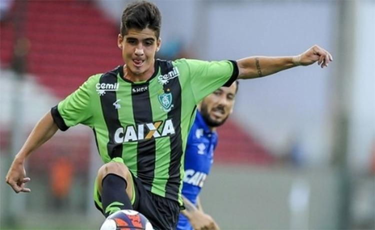 O atleta tem contrato com o Tricolor até dezembro de 2019 - Foto: Divulgação l América-MG
