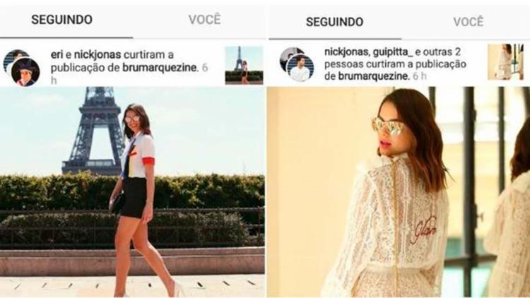 Bruna postou alguns looks no Instagram - Foto: Reprodução