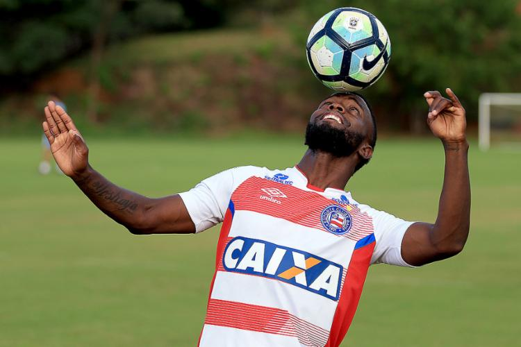 Mendoza é um dos 'praticamente garantidos' no duelo de domingo - Foto: Felipe Oliveira l EC Bahia