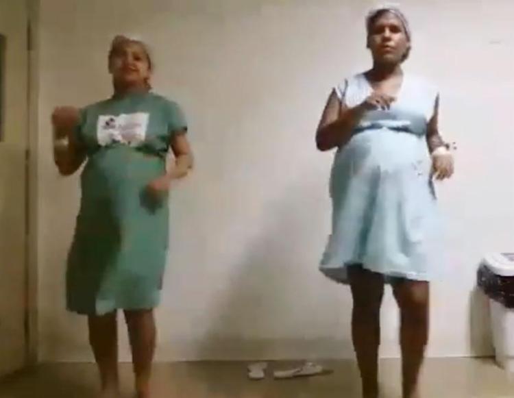 Gestantes dançaram para aumentar a dilatação e conseguirem ter parto normal - Foto: Reprodução | Youtube