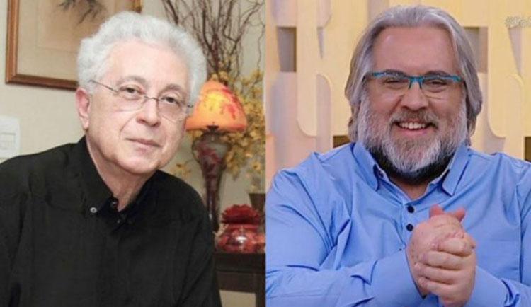 O apresentador chamou Agnaldo Silva de preconceituoso - Foto: Reprodução | TV Globo e SBT