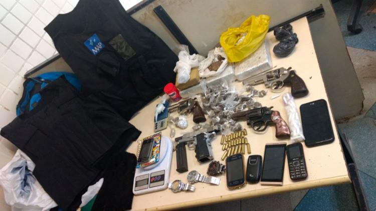 Material apreendido foi encaminhado à Delegacia Territorial de Camaçari - Foto: Divulgação | SSP