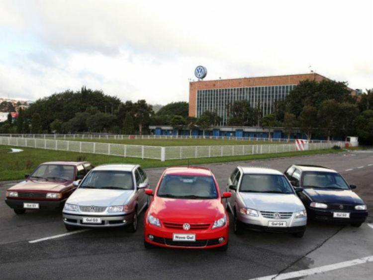 Volkswagen Gol é o segundo veículo nacional há mais tempo em produção - Foto: Divulgação
