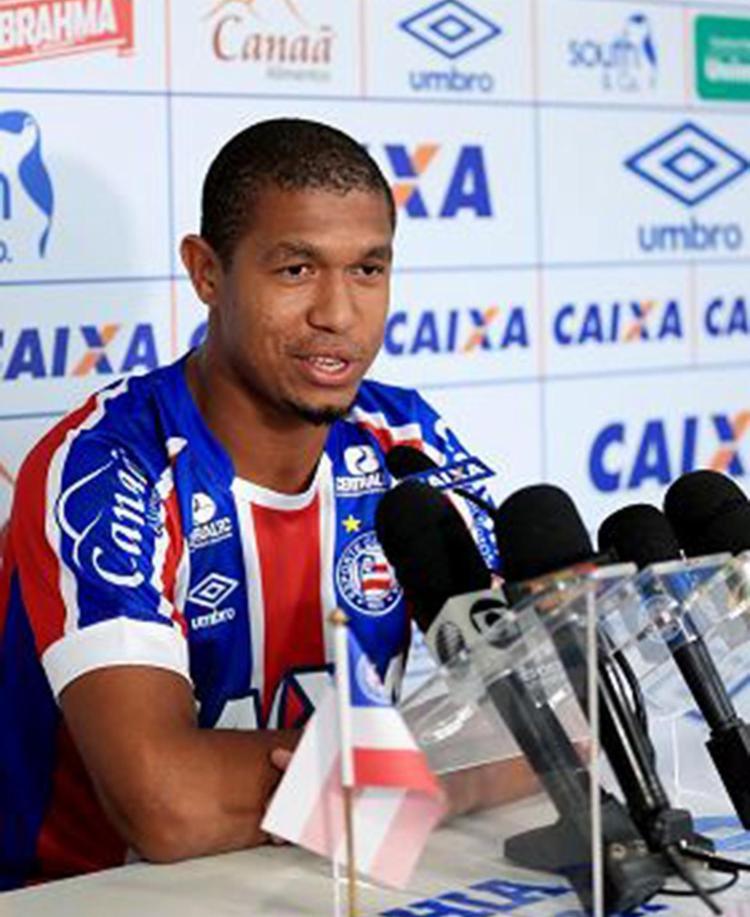 Rodrigão é apresentado e já pode entrar em campo pelo Bahia - Foto: Felipe Oliveira l EC Bahia