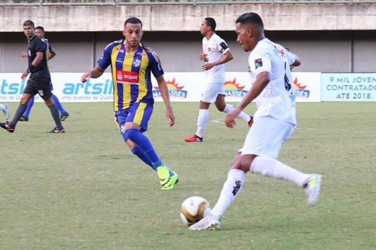 Jequié fez 4 a 1 no PFC Cajazeiras na partida de ida, em Pituaçu - Foto: Francisco Galvão l PFC Cajazeiras