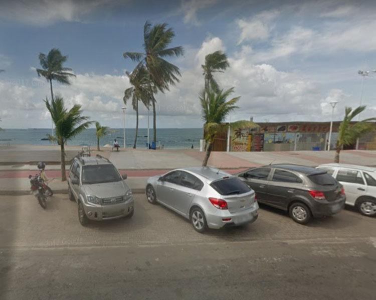 O incidente aconteceu próximo à 12ª Delegacia Territorial (D T/Itapuã) - Foto: Reprodução   Google Maps