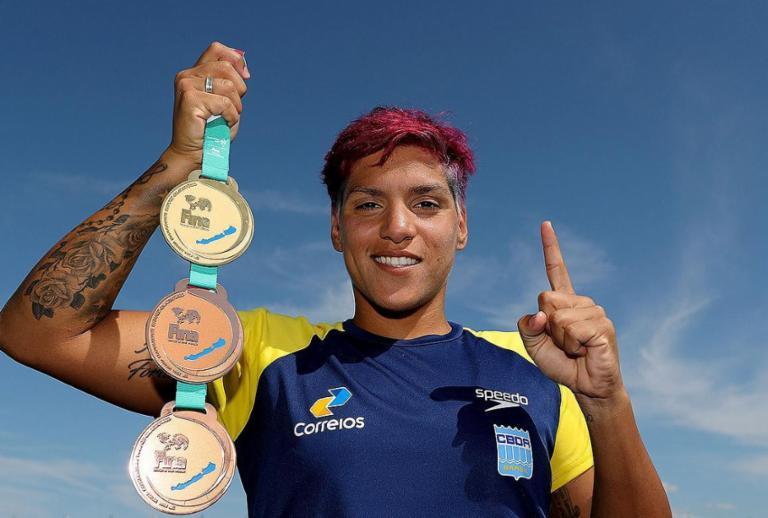 Baiana Ana Marcela é tricampeã mundial em feito histórico