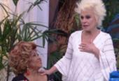 Ana Maria Braga chora ao receber Alcione no