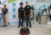 Estudantes de Lauro de Freitas desenvolveram equipamento antibomba | Foto: