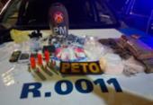 Três são presos em ponto de venda de drogas no subúrbio | Foto: