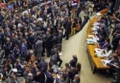 Plenário da Câmara vota distritão e fundo eleitoral nesta quarta   Foto: