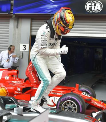 Hamilton vence de ponta a ponta na Bélgica e diminui diferença para Vettel - Foto: Loic Venance | AFP