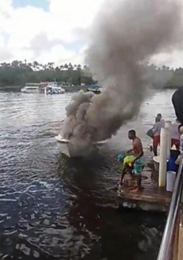 Não há informações sobre as circunstâncias do incêndio - Foto: Reprodução | Voz da Bahia