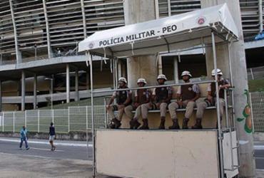 Fonte Nova tem policiamento reforçado para a Campus Party Bahia |