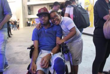 Estudante aprova acessibilidade na Campus Party Bahia |