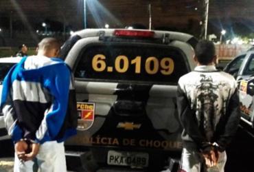Traficantes são presos no Engenho Velho da Federação