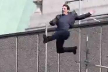 """Tom Cruise sofre acidente durante filmagem de """"Missão Impossível"""""""