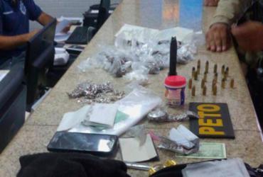 Três irmãos são presos com submetralhadora no Nordeste de Amaralina