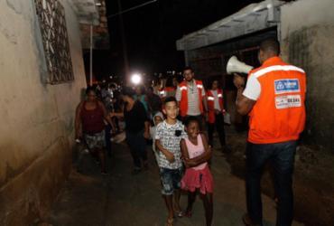 Codesal treina evacuação noturna no Calabetão