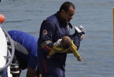 Criança de 1 ano está entre os mortos em naufrágio de lancha | Xando Pereira | Ag. A TARDE