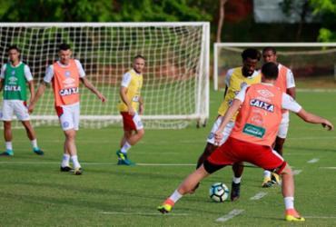 Bahia realiza penúltimo treino antes do jogo contra o Botafogo