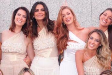 Marina Ruy Barbosa ganha despedida de solteira surpresa