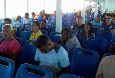 Travessia Salvador - Mar Grande é retomada nesta terça; veja vídeo | Joá Sousa | Ag. A TARDE