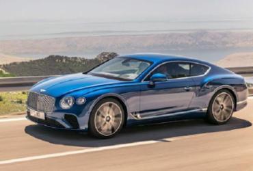 Bentley mostra novo Continental GT 2019