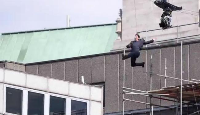 Ator se machucou quando pulava entre dois prédios - Foto: Reprodução   TMZ