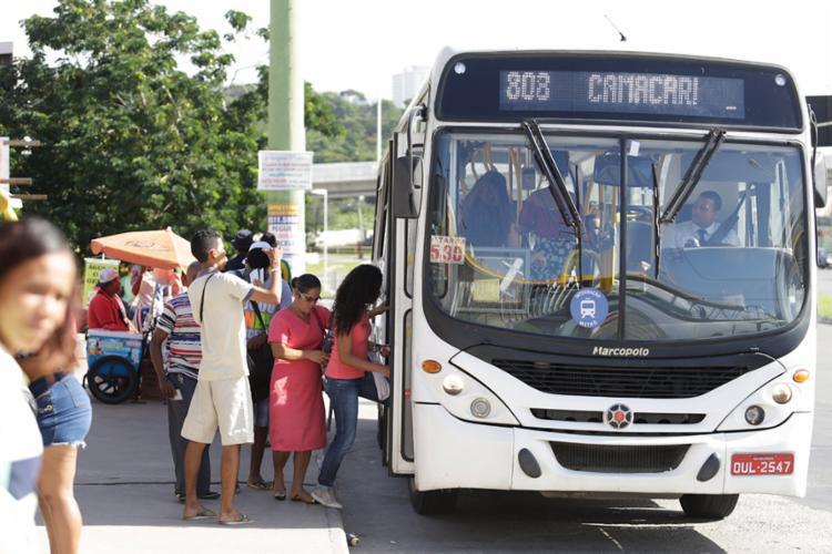 O sistema terá uma nova frota e será integrado de forma operacional e tarifária com o Metrô de Salvador - Foto: Joá Souza   Ag. A TARDE