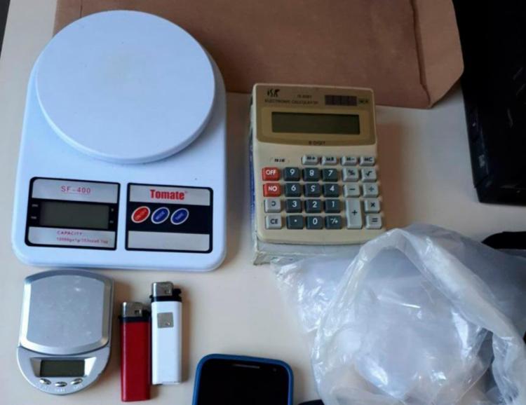 Material encontrado com a dupla será encaminhado para perícia no DPT - Foto: Divulgação | SSP-BA
