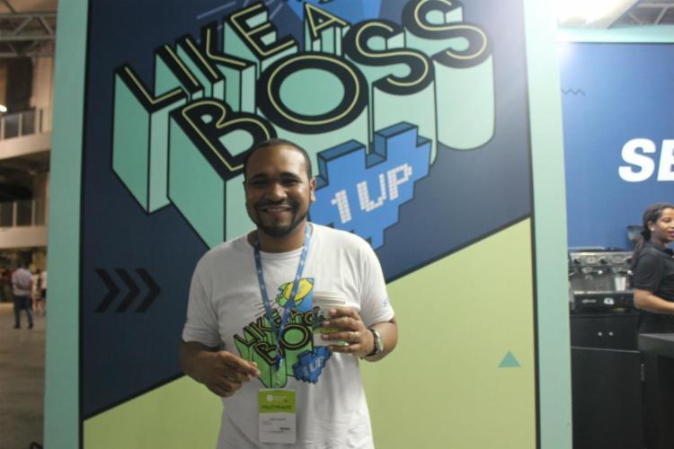 José Soares, gestor de startups do Sebrae, fala da iniciativa - Foto: Igor Andrade| Ag. A Tarde