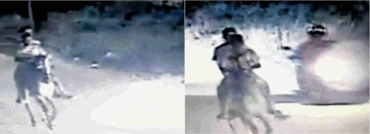 Imagens revelam Felipe acompanhado por um desconhecido – ambos montados em cavalo - Foto: Divulgação l Polícia Civil