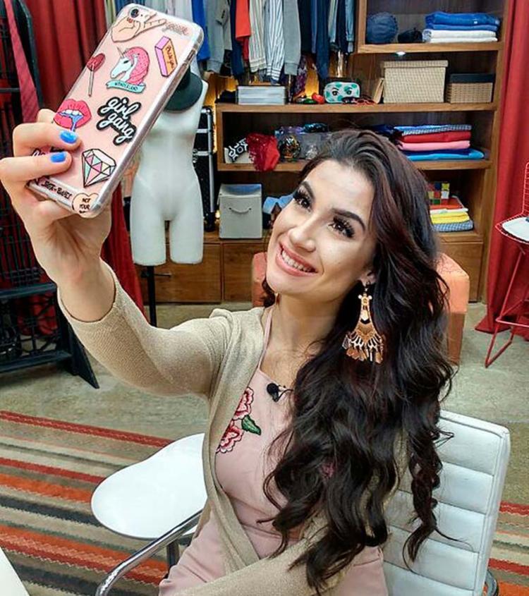 Bianca Andrade durante quadro no ´É de casa', exibido na Globo aos sábados - Foto: Raquel Gonzalez | Divulgação | Gshow