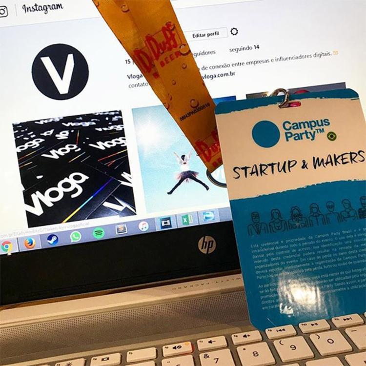 Projeto Vloga faz uma 'ponte' entre empresas e influenciadores digitais para fins de publicidade e marketing - Foto: Reprodução l Instagram