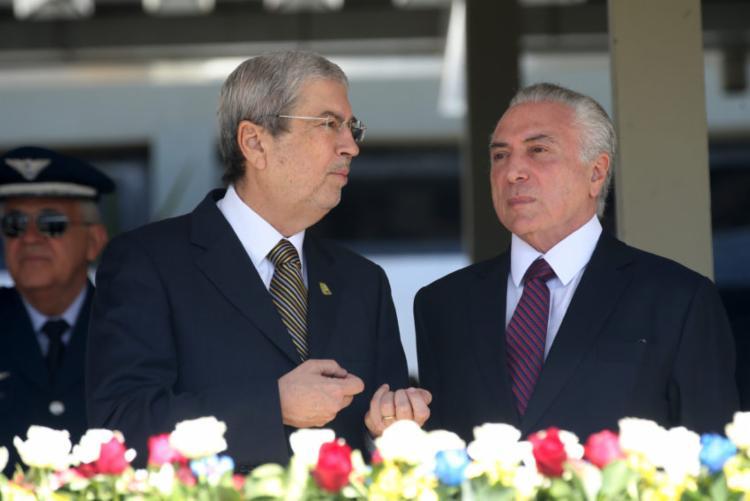 Antonio Imbassahy ao lado do presidente Michel Temer - Foto: Antonio Cruz | Agência Brasil | Fotos Públicas